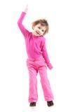 Petit danseur dans le rose image libre de droits