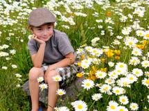 Petit Daydreamer mignon Photo libre de droits