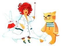Petit docteur Image stock