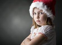 Petit elfe grincheux de Noël Image libre de droits
