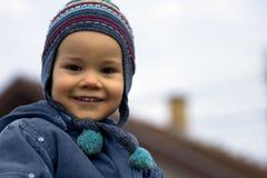 Petit enfant de sourire Photos libres de droits