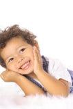 Petit enfant en bas âge heureux Images stock