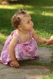 Petit enfant triste Photo libre de droits