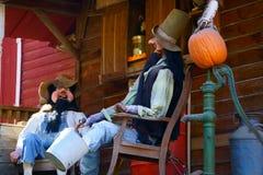 Petit entretien et bavardage de Front Porch photos stock