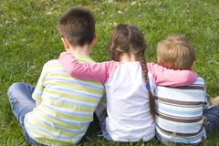 Petit famille Photographie stock