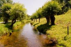 Petit fleuve Photos libres de droits