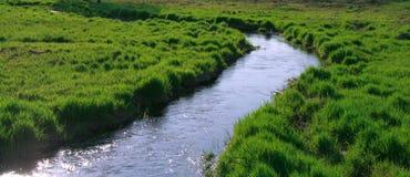 Petit fleuve Image libre de droits