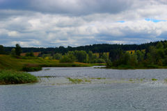 Petit fleuve Photographie stock libre de droits