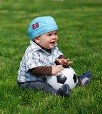 Petit footballeur Photos libres de droits