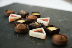 Petit four Immagine Stock