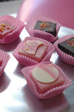 Petit four. S Stock Images