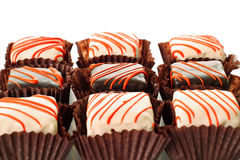 Petit four group Royalty Free Stock Images