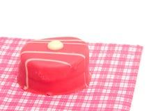 Petit four on napkin Royalty Free Stock Images