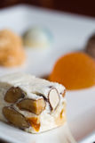 Petit fours. Candy and cakes Royalty Free Stock Photography