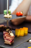 Petit fours Stock Photos