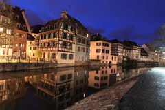 Petit France in Strasbourg Stock Photography