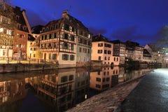 Petit Frankrike i Strasbourg Arkivbild