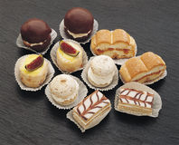 Petit gâteau Photos stock