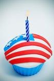 Petit gâteau américain Image stock