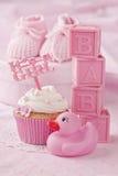Petit gâteau avec une sélection de gâteau image stock