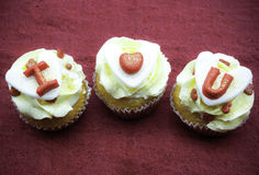 Petit gâteau d'amour Photo stock