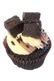 Petit gâteau de 'brownie' photographie stock libre de droits