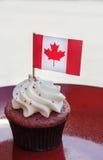 Petit gâteau de jour de Canada Photographie stock