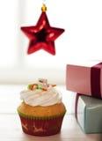 Petit gâteau de Noël Images stock