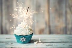 Petit gâteau de Noël Photo stock