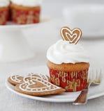 Petit gâteau de Noël photographie stock libre de droits