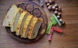 petit gâteau savoureux de maïs Image stock