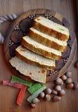 petit gâteau savoureux de maïs Photos stock
