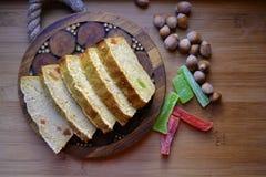 petit gâteau savoureux de maïs Image libre de droits