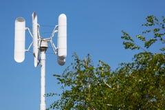 Petit générateur de vent pour le ménage ou la ferme, concept d'énergie propre photo libre de droits