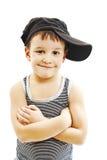 petit garçon à la mode Style de hip-hop Images stock