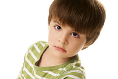Petit garçon Photos libres de droits