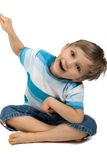 Petit garçon photo libre de droits
