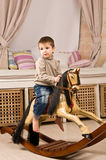 Petit garçon. Image stock