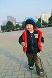 Petit garçon asiatique Photo stock
