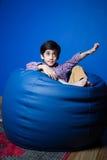 Petit garçon asiatique images libres de droits