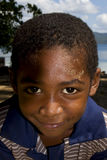 petit garçon au Madagascar Images stock