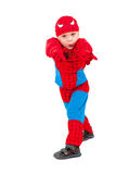 Petit garçon dans le costume de carnaval photographie stock
