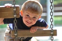 Petit garçon de sourire Photographie stock