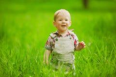 Petit garçon doux photos stock
