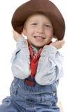 Petit garçon expressif Photo stock
