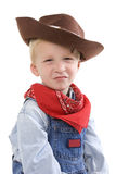 Petit garçon expressif images libres de droits
