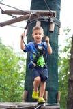 Petit garçon extrémal Image libre de droits