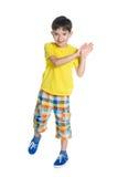 Petit garçon gai Images stock