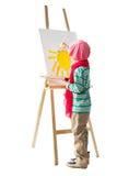 Jeune artiste Image stock