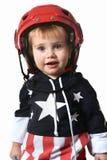 Petit garçon heureux Images libres de droits